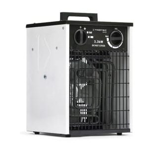 električni grelec z ventilatorjem