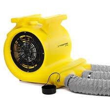Trotec turbo ventilator TFV 30 S s cevmi